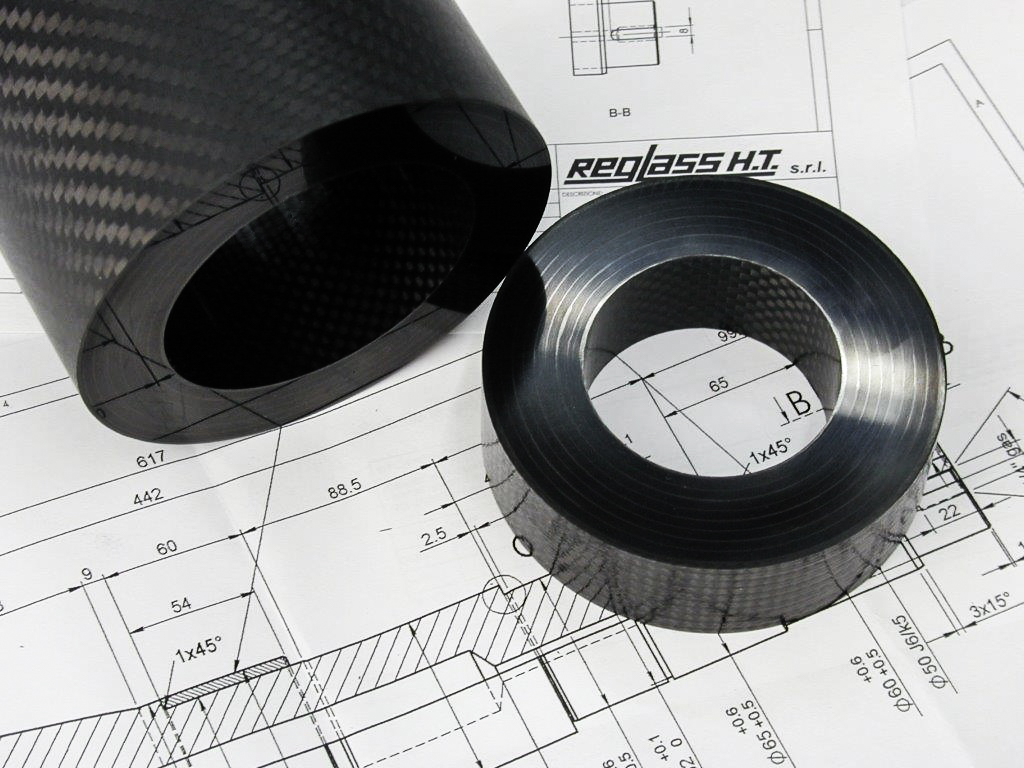 Carbon fiber mandrel