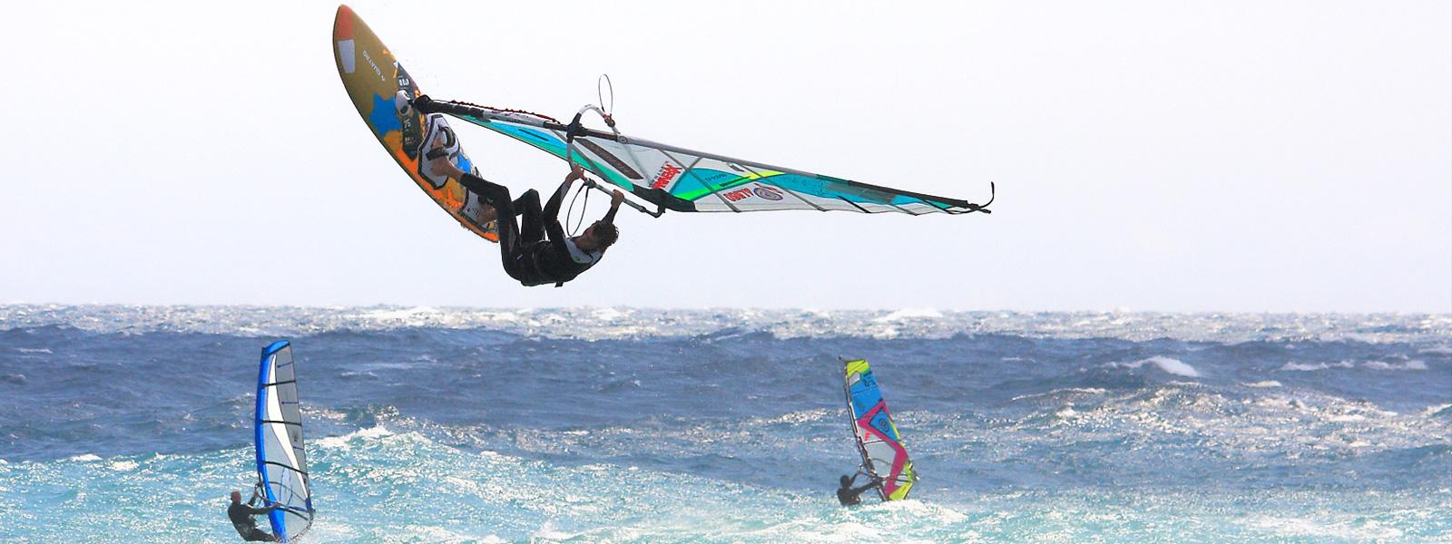 Alberi da windsurf in fibra di carbonio