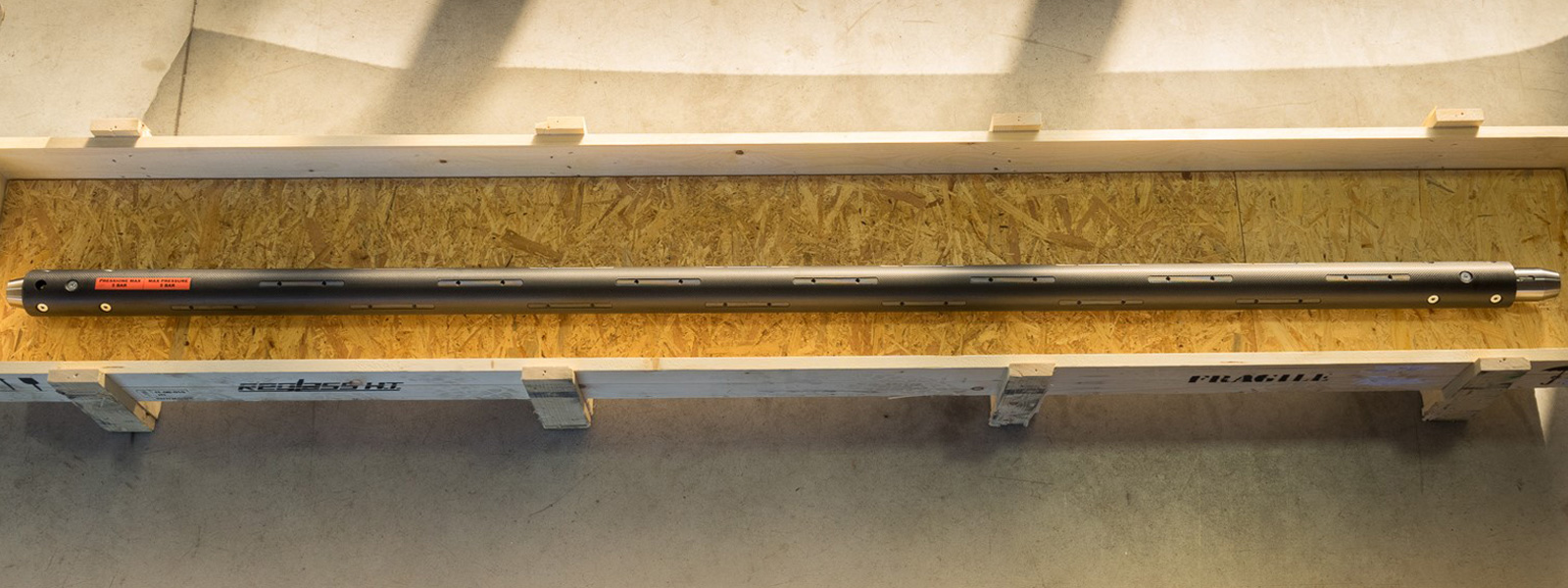 Albero espansibile in fibra di carbonio