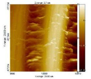 Tecnologia Nanolith al microscopio