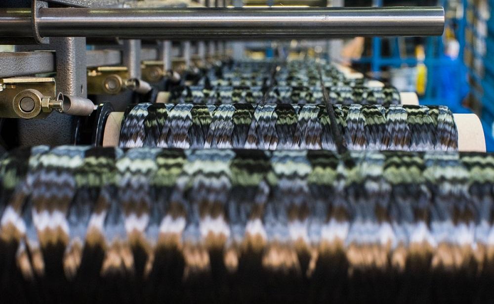 Bobine in fibra di carbonio