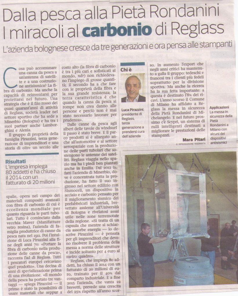Corsera Imprese Emilia-Romagna, lun. 29 giugno 2015