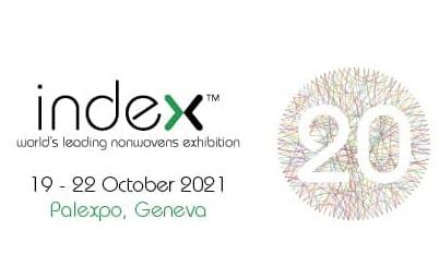 INDEX™20, esposizione nel settore del tessuto non tessuto al Palexpo di Ginevra dal 19 al 22 ottobre 2021