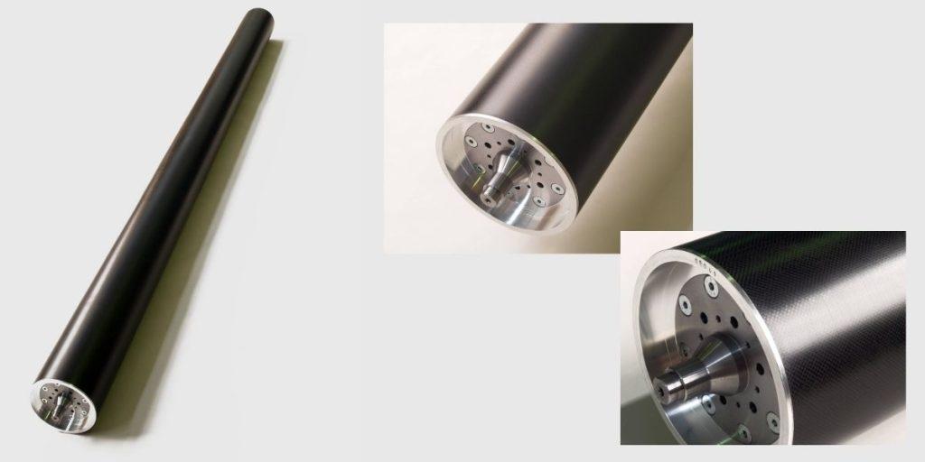 Tubi in fibra di carbonio - particolari